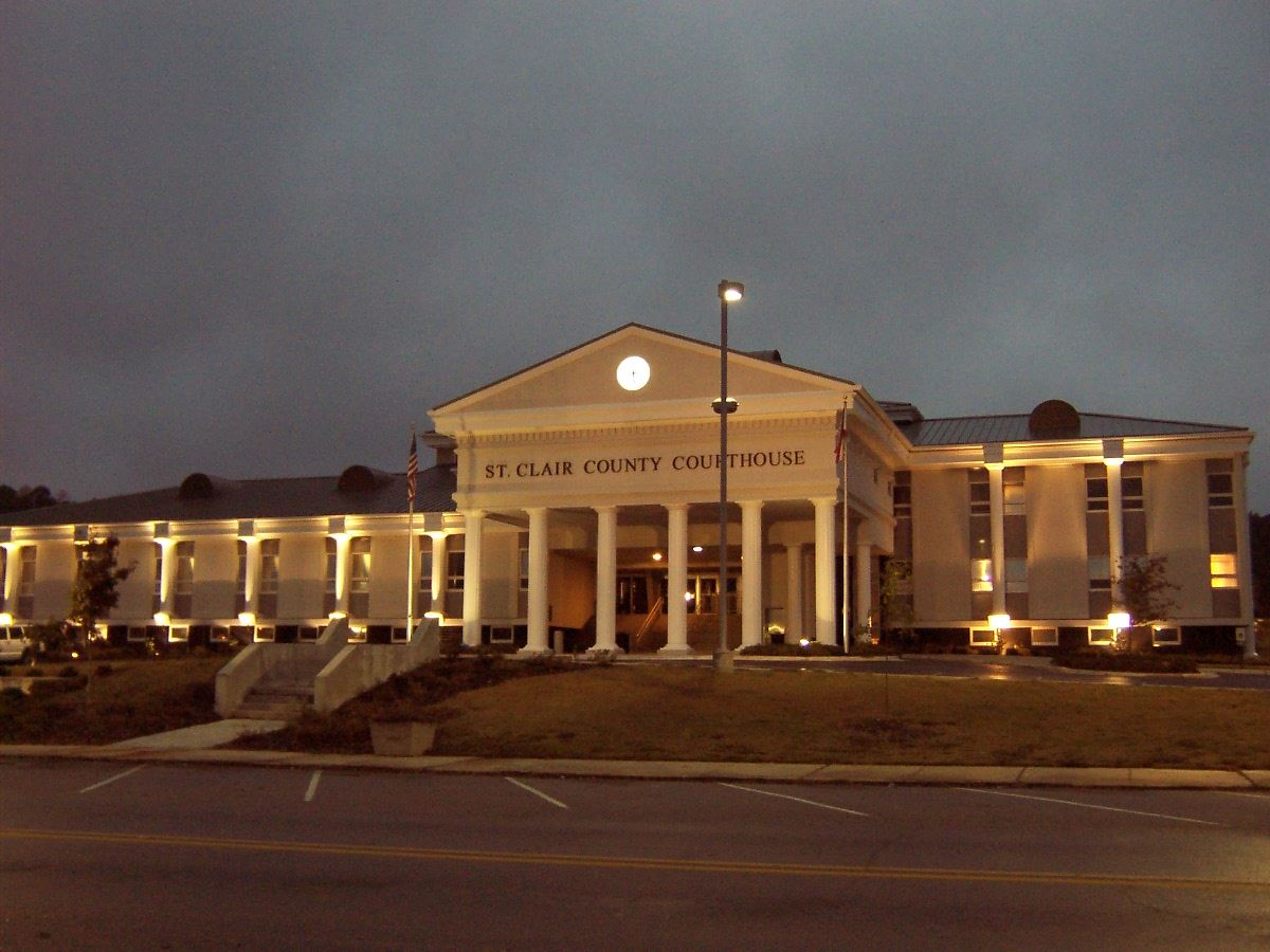 Pell City Courthouse - Night